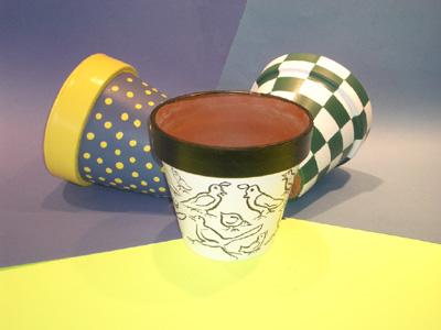 Flower Pot Crafts, Clay Pot Crafts, Gardening with Kids