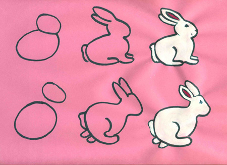 Easy Easter Pictures How To Draw
